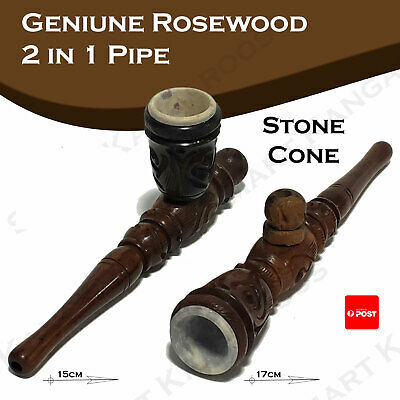 wooden smoking pipe wood cone piece smoking pipe silver screens cone piece cones