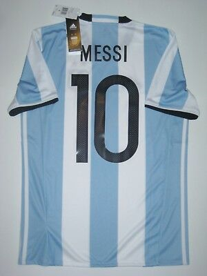 the best attitude 505ef 82509 2016-2017 COPA AMERICA New Adidas Argentina Lionel Messi Kit Shirt Jersey  Home