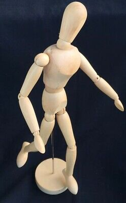 "Artists Modeling Manikin, 16"" Human Form Drawing Model Wood Figure Mannequin NEW"