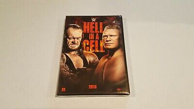 WWE: Hell in a Cell 2015 (DVD, 2015) New