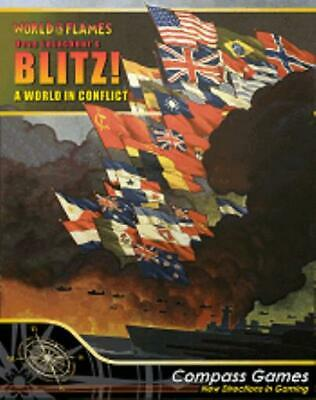 Compass WWII War Game Blitz! A World in Conflict Box VG+