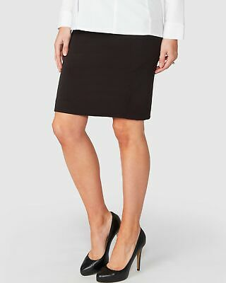 Pea in a Pod Emma Maternity Skirt in Black Maternity Pregnancy Clothing