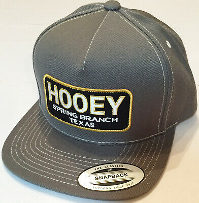 super popular 8564f 7d5b1 HOOEY Spring Branch Snapback hat cap logo - SAME DAY SHIPPING.