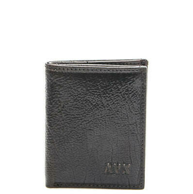 brand new 602ff d7605 PORTAFOGLIO UOMO AVIREX wallet card vertical small wallet BROWN