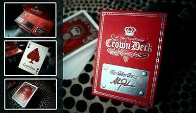 2x Red Crown Luxury Edition Playing Cards HOPC Blue Crown Rare 1st Edition 2013