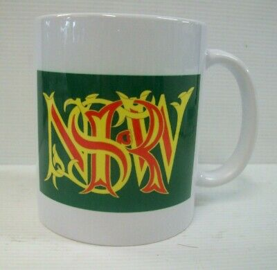 New South Wales Railways Logo Coffee Mug With Logo On 2 Sides