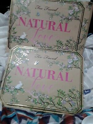 Too Faced Natural Love Palette Limited Edition and Discontinued! No mirror