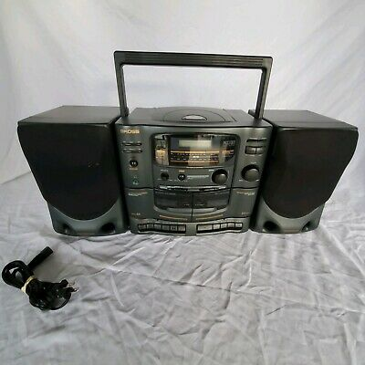 Koss Radio Cassette CD Combo Boombox Model HG910 Manuctured March 1996