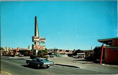 1970'S. Route 66, Trade Winds Motor Hotel. Albuquerque, Nm Postcard Db21
