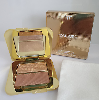 Tom Ford Transparent Surbrillance Duo - Reflète Doré 3g