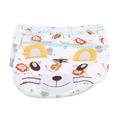 Cartoon Anmal Pattern Infant Breathable Bread Pants Underwear Baby Shorts HD