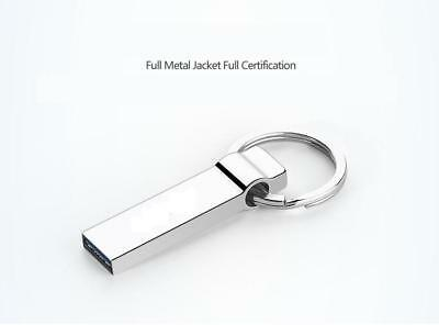 2TB Keychain USB Flash Drives Metal Memory USB 3.0 Stick U Disk Storage Silver