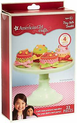 American Girl Doll Crafts Tiny Felt Treats Tea Party Cupcakes New Food Supplies