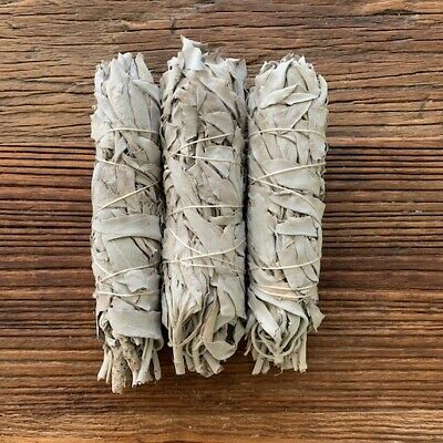 White Sage Smudge Sticks USA 3 pack