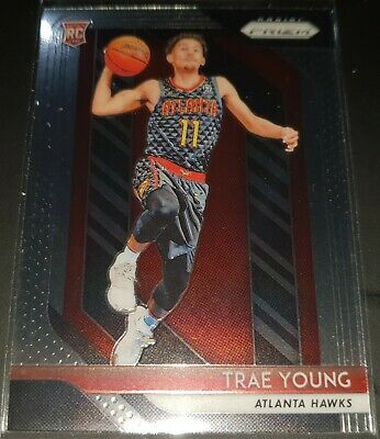 Trae Young 2018-19 Panini Prizm Rookie Card (no.78)