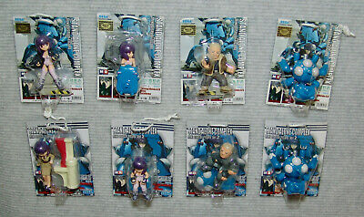 NEW STAND ALONE COMPLEX MINI DISPLAY FIGURE Complete vols.1&2 Ghost in the Shell