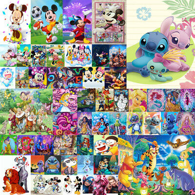 Mickey Cartoon Characters Stitch Full 5D Diamond Painting Embroidery Craft Mural