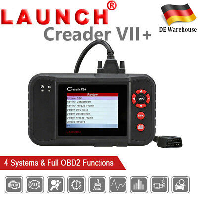 LAUNCH X431 VII+ 7+ CRP123 Diagnosegerät Scanner OBD2 Codeleser Engine ABS SRS