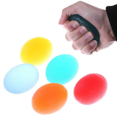 Autism Mood Squeeze Egg Stress Ball Hand Finger Exercise Stress Relief Toy OI
