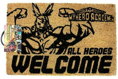 My Hero Academia OFFICIALLY LICENSED Anime All Heroes Welcome Home Door Mat