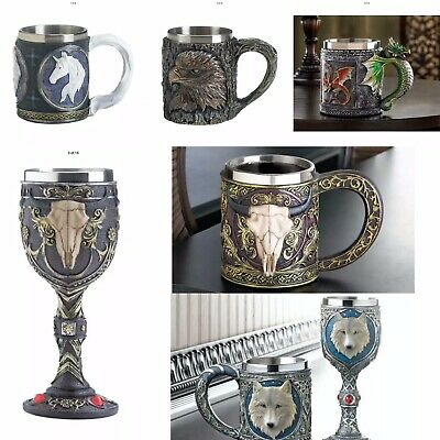 Timber Dragons Skulls Unicorn & Eagles Goblets & Mugs Father's Day Gift Idea