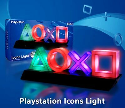 PLAYSTATION ICONS LIGHT by PALADONE NEW in BOX OFFICIAL SONY PRODUCT COLLECTORS