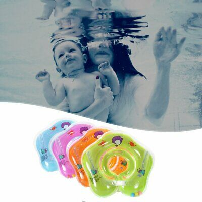 Adjustable Inflatable Baby Newborn Swim Swimming Bath Ring Security W0