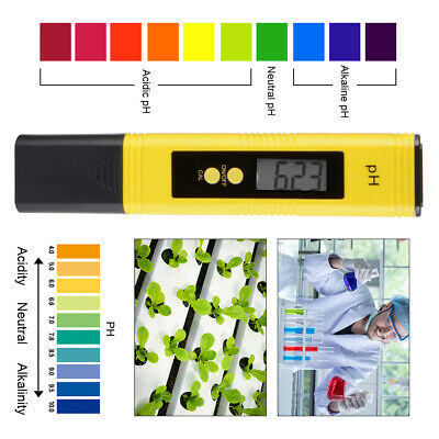 Protable Digital PH Meter Pen pour testeur d'eau de piscine aquarium TH1239
