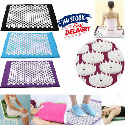 AU Body Massager Acupressure Cushion Mat Shakti Relieve Acupressure Yoga Pad