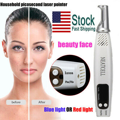 Handheld Picosecond Laser Tattoo Scar Freckle Removal Pen Machine Skin Care OZ