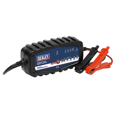 AUTOCHARGE200HF Sealey Compact Auto Smart Charger 2A 9-Cycle 6/12V - Lithium