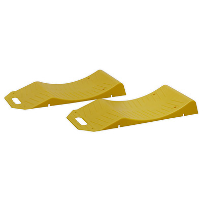 TS05 Sealey Tyre Savers - 1tonne Capacity per Ramp 2tonne Capacity per Pair