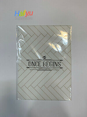 Twice Fan Meeting - Once Begins Official MD - Poster Set (10EA)