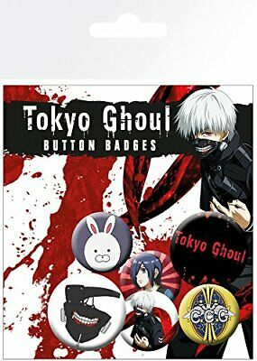 Tokyo Ghoul Kaneki Mix Anime Manga 6 Pin Assorted Badges Badge Pack