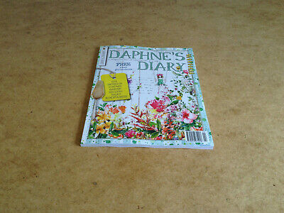 DAPHNE'S DIARY No.4 2019 VINTAGE GARDEN RECIPES MINFULNESS CREATIVE PROJECTS