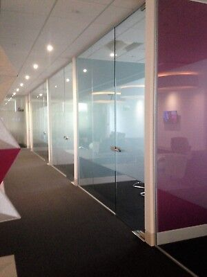 Brand New. Glass Partitioning, Glass Partitions, Toughened Glass Panels