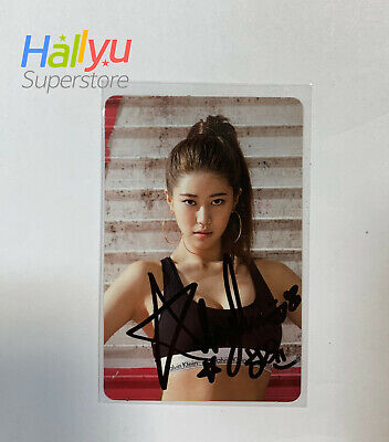 Brave Girls - Ha Yun's Hand Autographed Photocard