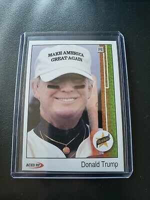 1989 Upper Deck Donald Trump Ken Griffey Jr. Rookie Parody ACEO Baseball Card RC