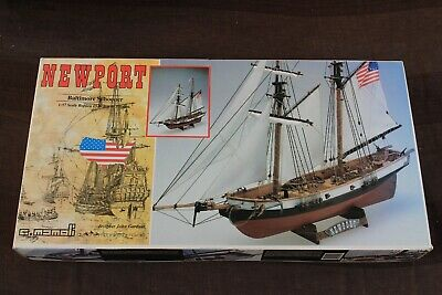 Model Kit NEWPORT BALTIMORE SCHOONER MAMOLI 1:43 art. 736