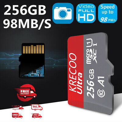 256GB 128GB 64GB Ultra Micro SD HC Class 10 TF Flash SDHC Memory Card Mobile USA