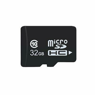 32GB Micro SD SDHC Memory Card + Adapter for Mobile Phones Tabs Cameras Dashcam