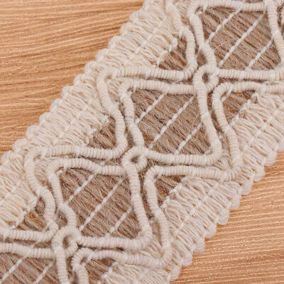 10m Jute Burlap Natural Hessian Ribbon Roll Lace Trim Edge Wedding Rustic