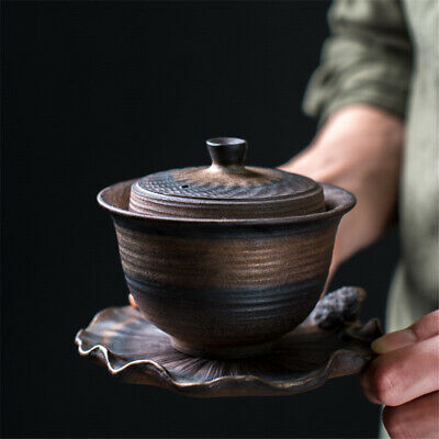 Gaiwan tea Luxury Puer tea maker gaiwan cup saucer kung fu tea set for black tea