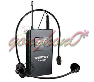 WTG-500 Takstar UHF Tour Guide Wireless System 1 Transmitter with 3 Receivers
