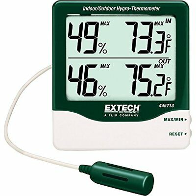 Extech 445713 Big Digit Indoor/Outdoor Hygro-Thermometer