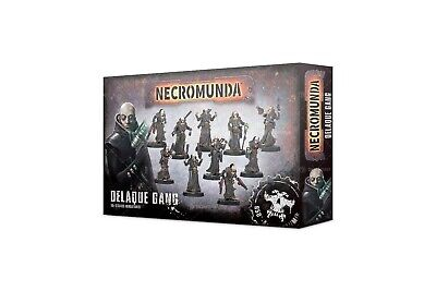 Necromunda Gang: Delaque (10) - Games Workshop 5011921115280