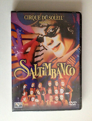 Cirque Du Soleil DVD Saltimbanco 1994 Jacques Payette  IJ 511 ‎ NEW & SEALED