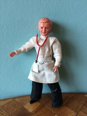 Arzt Caco Puppe Puppenhaus  Puppenstube  1:12 dollhouse doll doctor
