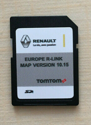 RENAULT TOMTOM R-LINK FULL Europe 10.15 +UK MAP 2019 - 2020 SD Card new version
