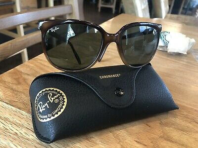 5aa6c1c83 RAY-BAN CATS RB4126 820/A5 57MM Stripped Havana Sunglasses Pink ...